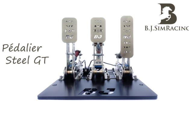 Pédalier Steel GT de B.J.SIMRACING : Une belle proposition