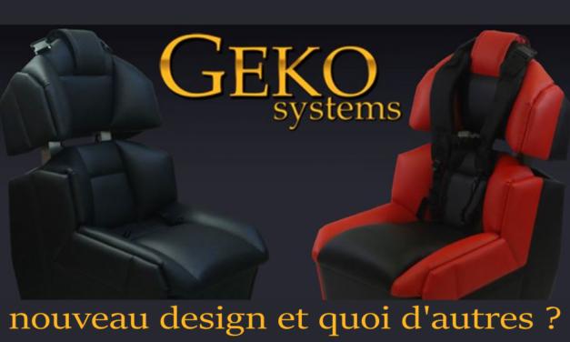 GS-Cobra :Un nouveau design pour le G-SEAT de GEKO SYSTEMS