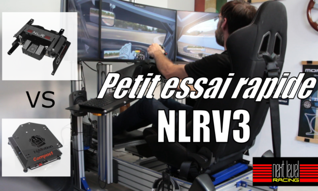 Petit tour en NLRV3 : La plateforme 2DOF de NEXT LEVEL RACING