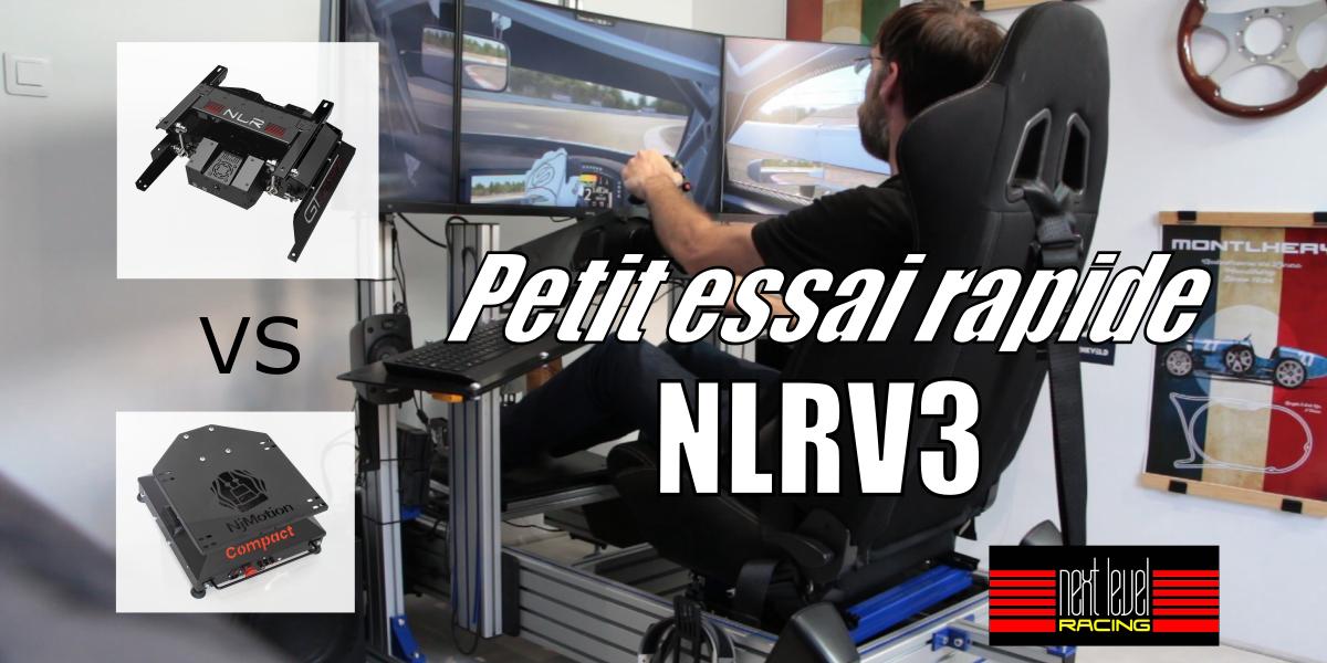 Petit tour en NLRV3 : La plateforme 2DOF de NEXT LEVEL RACING
