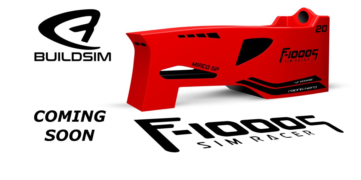 BUILDSIM F-1000S : un nouveau cockpit F1 à venir en 2021