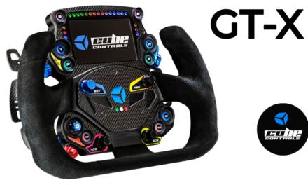 Un nouveau Volant pour CUBE CONTROLS : Le GT-X