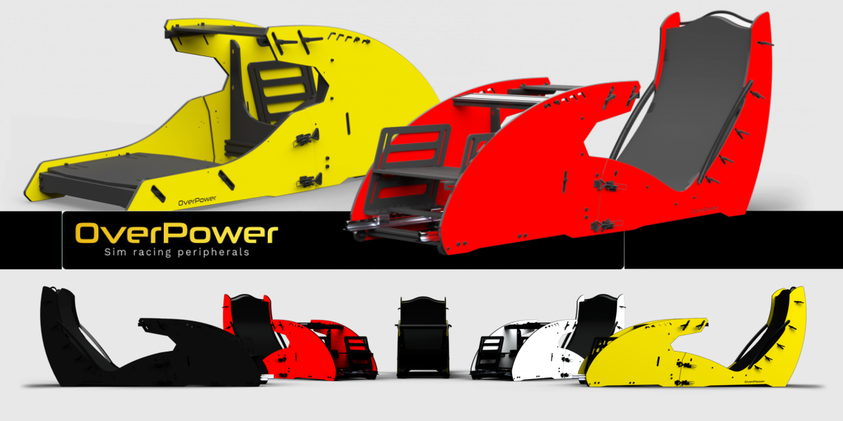 OVERPOWER présente ses cockpits GT et Formula
