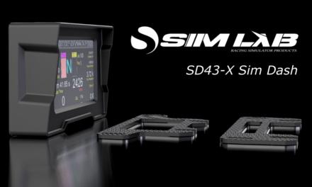 SD43-X Sim Dash : Un afficheur pour SIM LAB