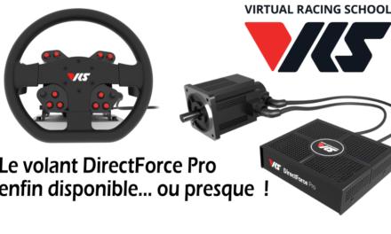Volant VRS DirectForce Pro : L'attente a été longue !