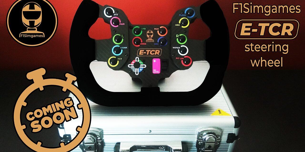F1Simgames annonce un Volant E-TCR