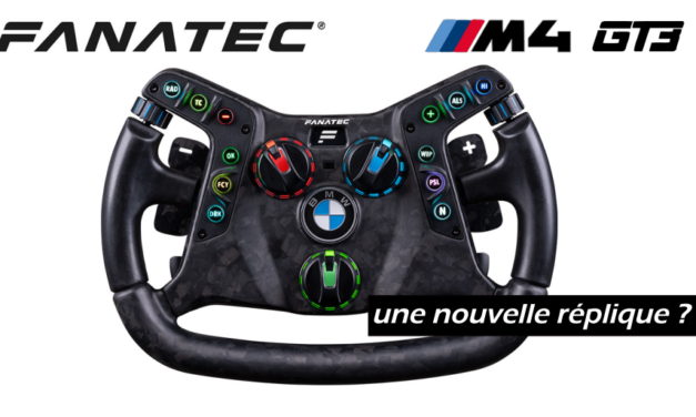 FANATEC annonce son volant BMW M4 GT3