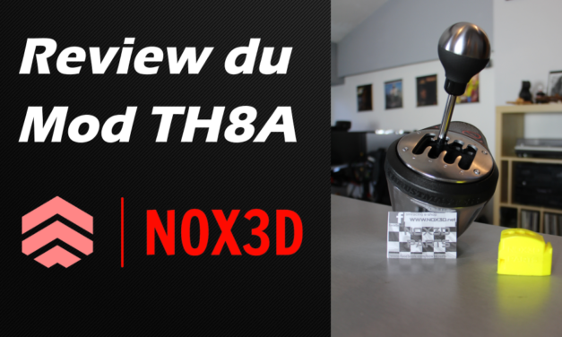Review du mod de NOX3D pour le shifter Thrustmaster TH8