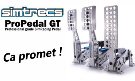 SIMTRECS ProPedal GT : un nouveau pédalier plein de promesses !