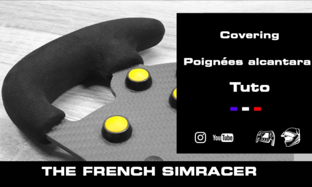 [DIY] Covering volant Alcantara – The French Simracer