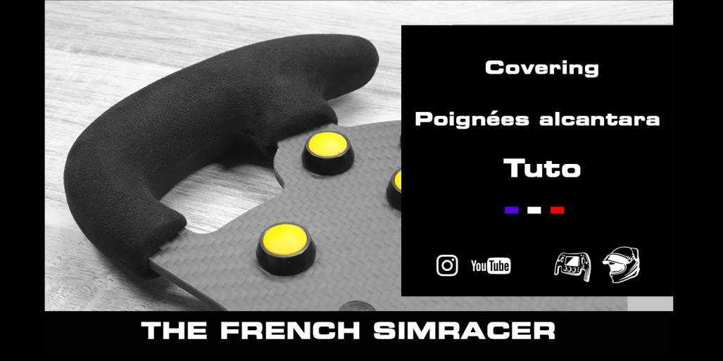 [DIY] Covering volant Alcantara – The French Simracer