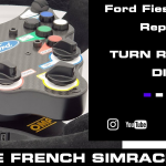 Volant Fiesta WRC Wireless par The French Simracer…et Turn Racing