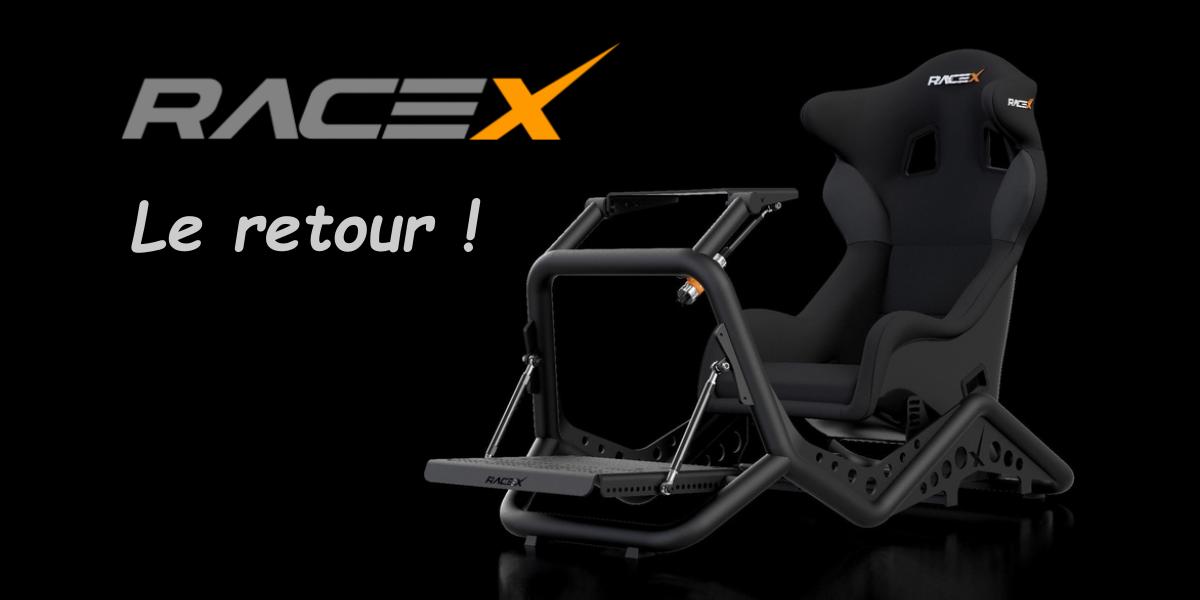 RaceX Pro : une belle collaboration pour une belle renaissance