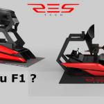 De beaux simulateurs au choix (GT ou F1) avec RES TECH