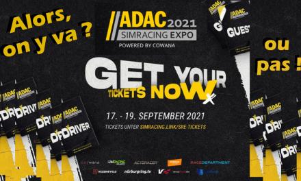 ADAC SIMRACING EXPO 2021 : c'est bientôt là !